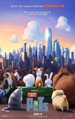 Poster filma The Secret Life of Pets (2016)