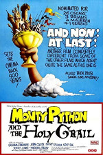 Poster filma Monty Python and the Holy Grail (1975)