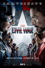 Poster filma Captain America: Civil War (2016)