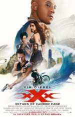 Poster filma xXx: Return of Xander Cage (2017)