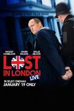 Poster filma Lost in London (2017)